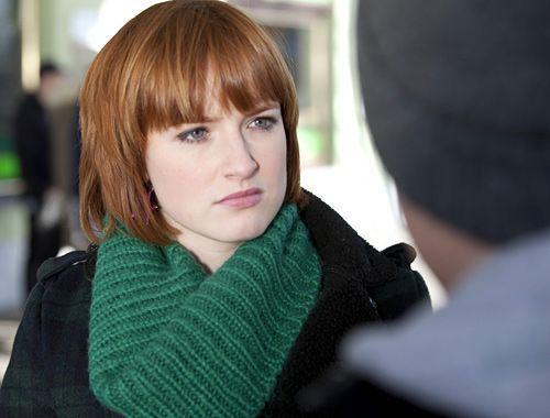 Caro ist sichtlich mit der Schwangerschaft überfordert, und sie sehnt sich nach ihrer Freundin Sophie (Franciska Friede). Die hat allerdings gerade... - Bildquelle: David-Saretzki - Sat1
