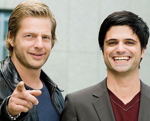 Henning Baum und Maximilian Grill - Bildquelle: Sat1