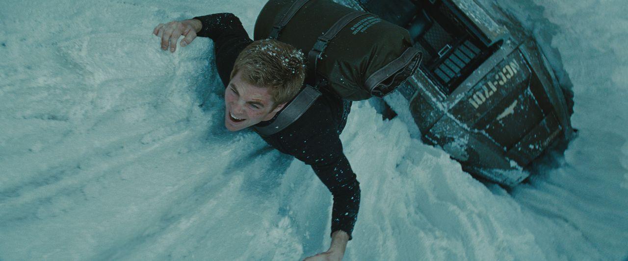 Geht keinem Risiko aus dem Weg: Hitzkopf Kirk (Chris Pine), der das Schicksal der Galaxis in seinen Händen hält ... - Bildquelle: Paramount Pictures