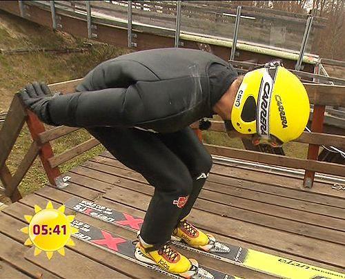 fruehstuecksfernsehen-jan-hahn-skispringen-007 - Bildquelle: Sat.1