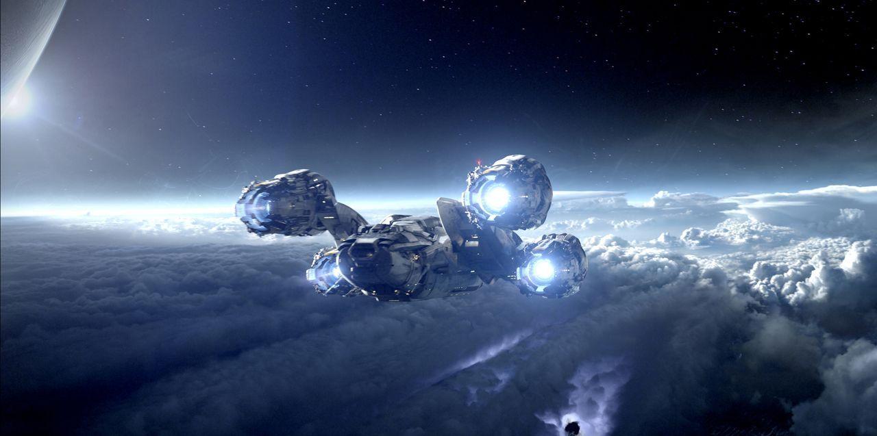 """Mit dem Raumschiff """"Prometheus"""" macht sich ein Forscherteam auf dem Weg zu dem Planeten LV-223. Kaum dort angekommen, erwartet die Besatzung ein mör... - Bildquelle: TM and © 2012 Twentieth Century Fox Film Corporation. All rights reserved."""