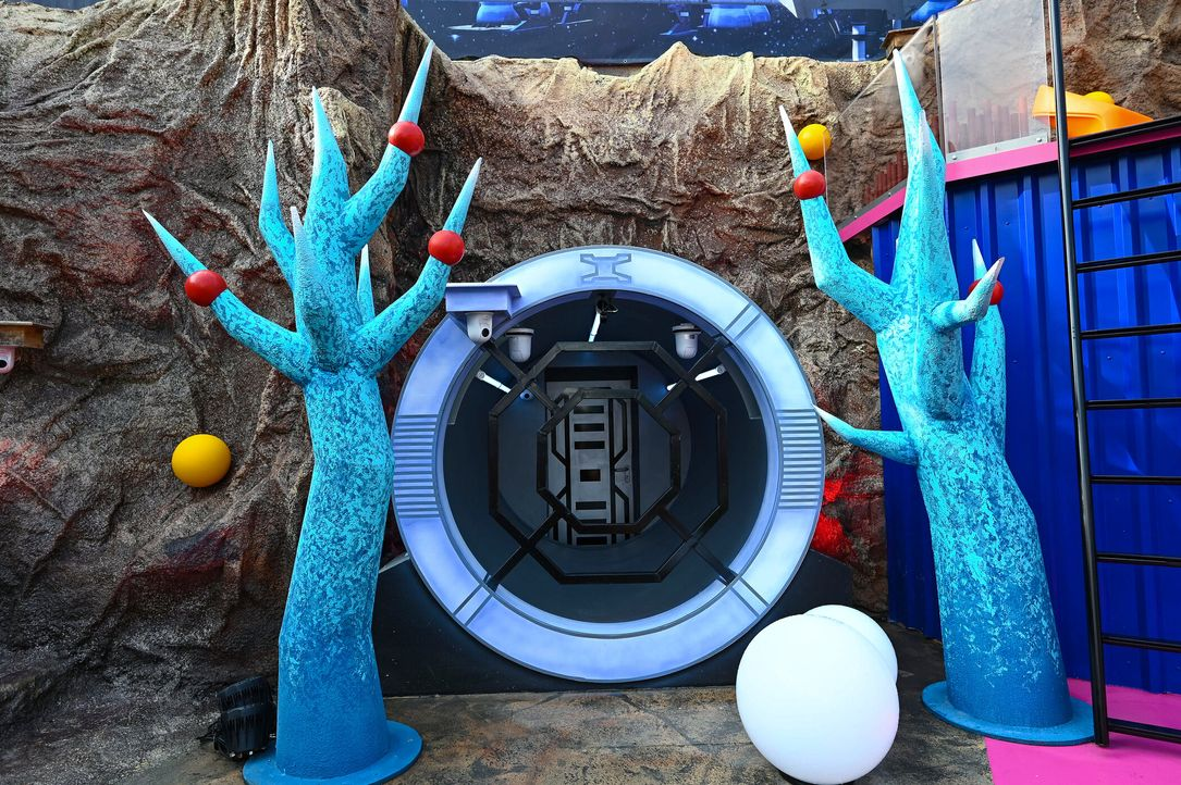 Promi Big Brother 2021 - Die ersten Fotos der Bereiche - 2272777 - Bildquelle: SAT.1/Willi Weber