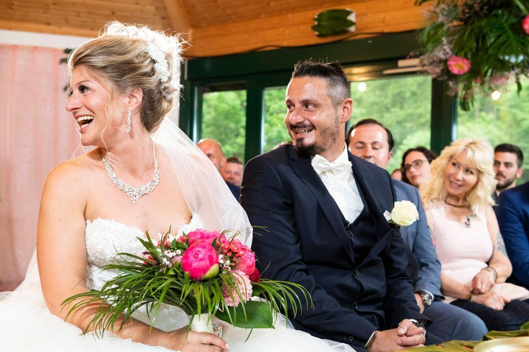 Samantha und Serkan: Die Hochzeit3 - Bildquelle: SAT.1 / Christoph Assmann
