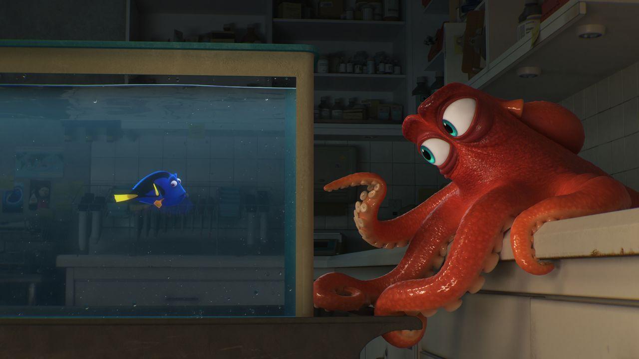 Dorie (l.); Hank (r.) - Bildquelle: Disney/Pixar