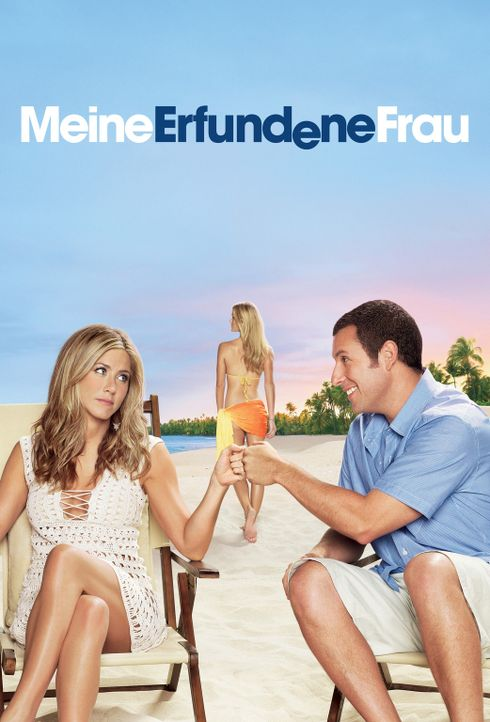 Meine erfundene Frau - Plakatmotiv - Bildquelle: 2011 Columbia Pictures Industries, Inc. All Rights Reserved.