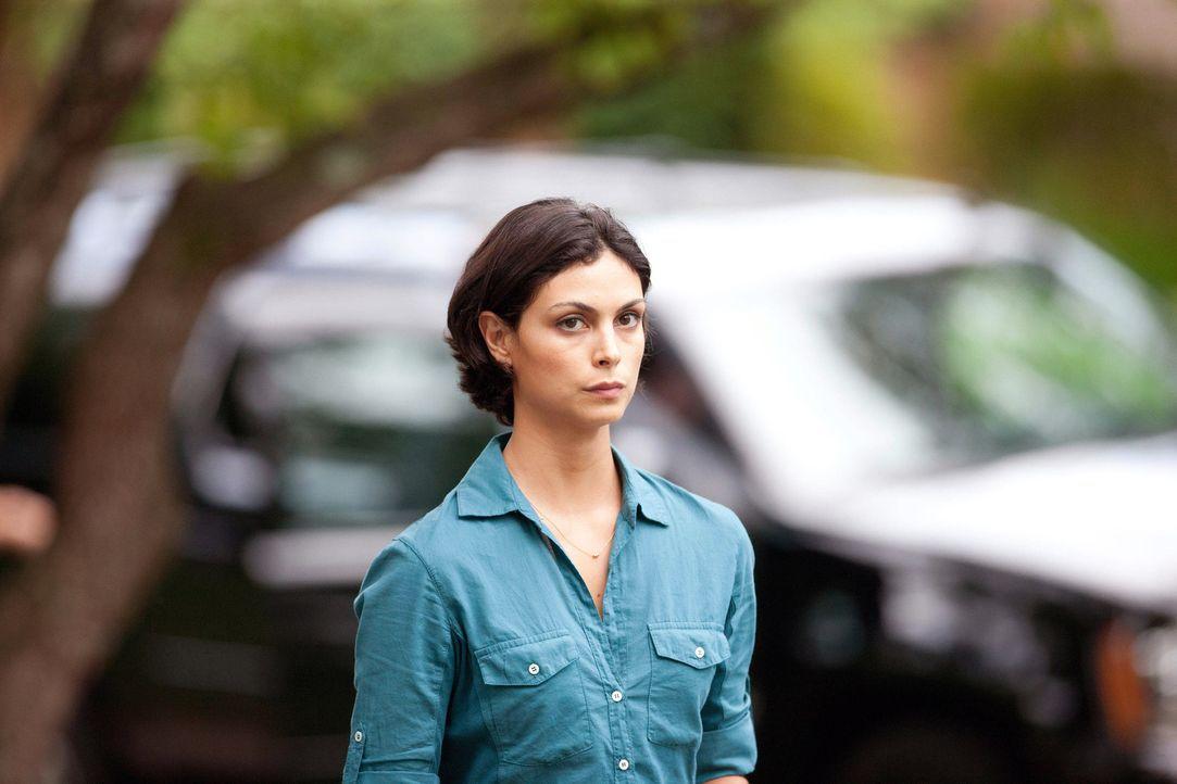Während ihre Tochter ein Date mit Finn Walden hat, macht sich Jessica (Morena Baccarin) große Sorgen um ihren Mann ... - Bildquelle: 20th Century Fox International Television