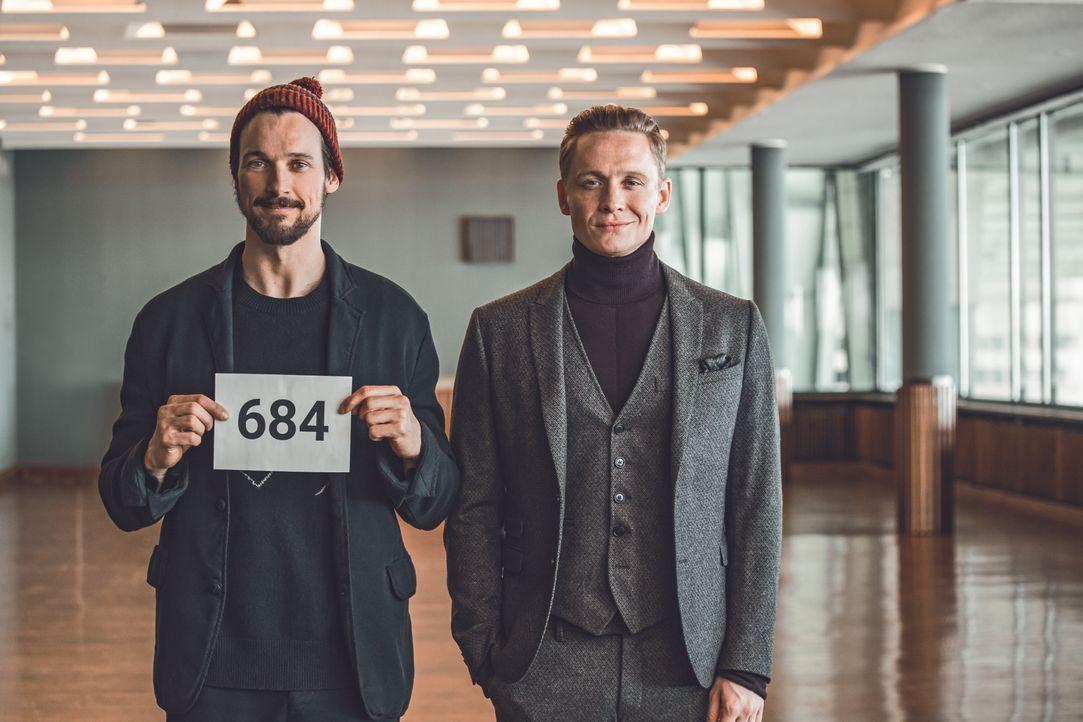Paul (Florian David Fitz, l.); Toni (Matthias Schweighöfer, r.) - Bildquelle: 2018 Pantaleon Films GmbH / Warner Bros. Entertainment GmbH