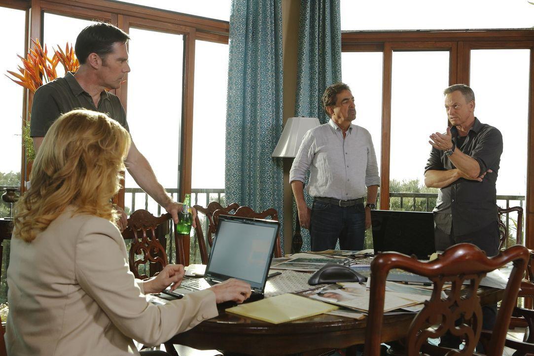 Arbeiten zusammen, um eine Familie, die während ihres Urlaubs entführt wurde, zu finden und den Täter zu fassen: (v.l.n.r.) Lily Lambert (Anna Gunn)... - Bildquelle: ABC Studios