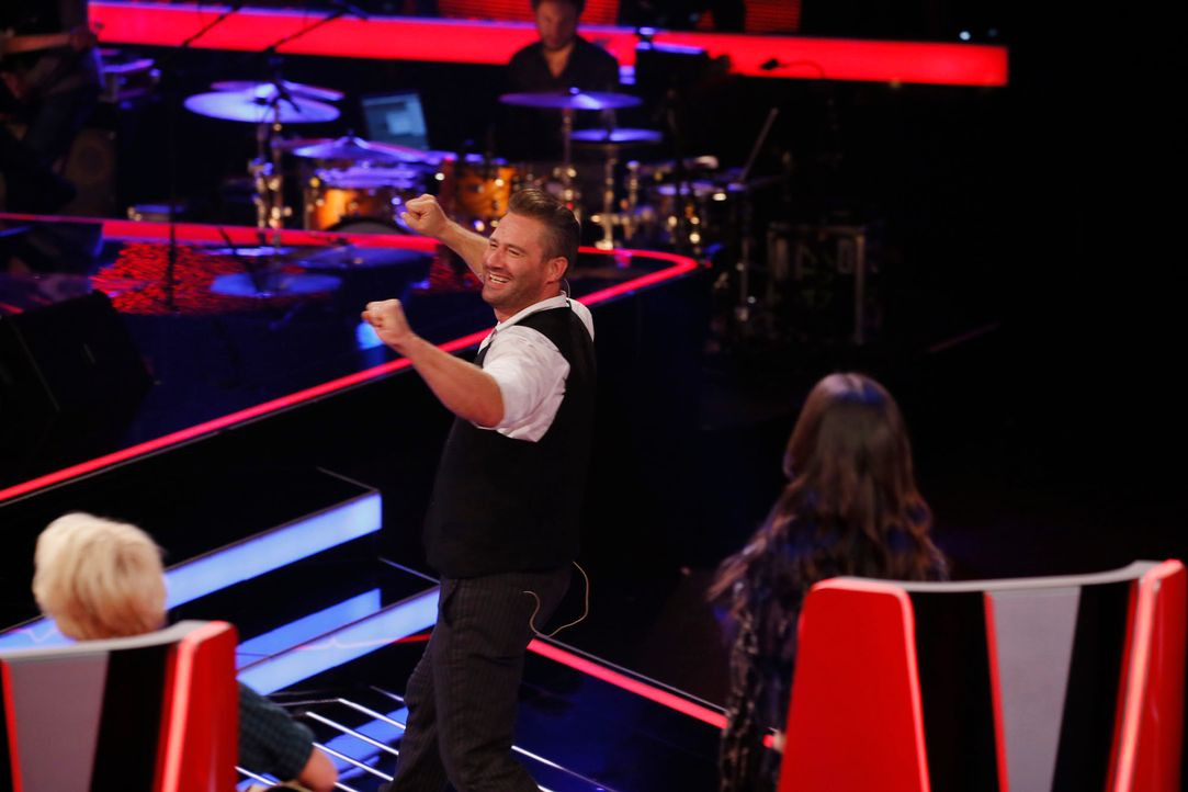 The-Voice-Kids-s04e02-Felix-4-SAT1-Richard-Huebner - Bildquelle: © SAT.1/ Richard Hübner