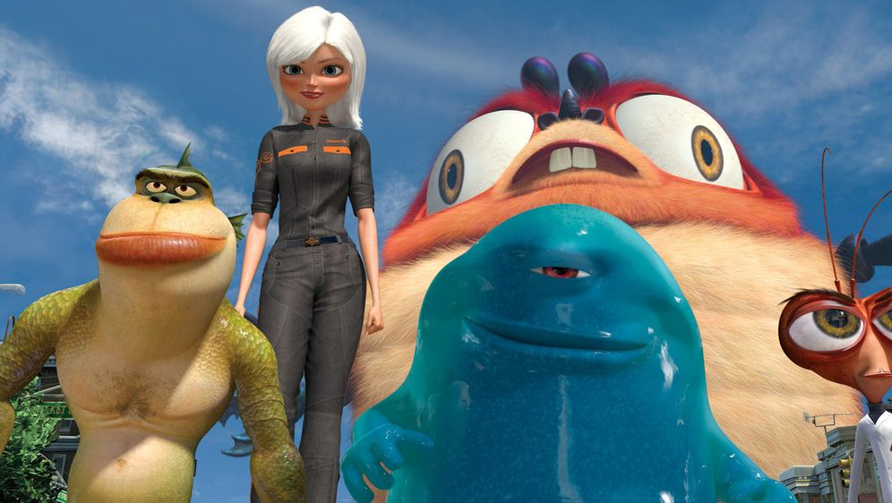 Monsters vs Aliens - Bildquelle: TM and   2008 by DreamWorks Animation LLC. All rights reserved.