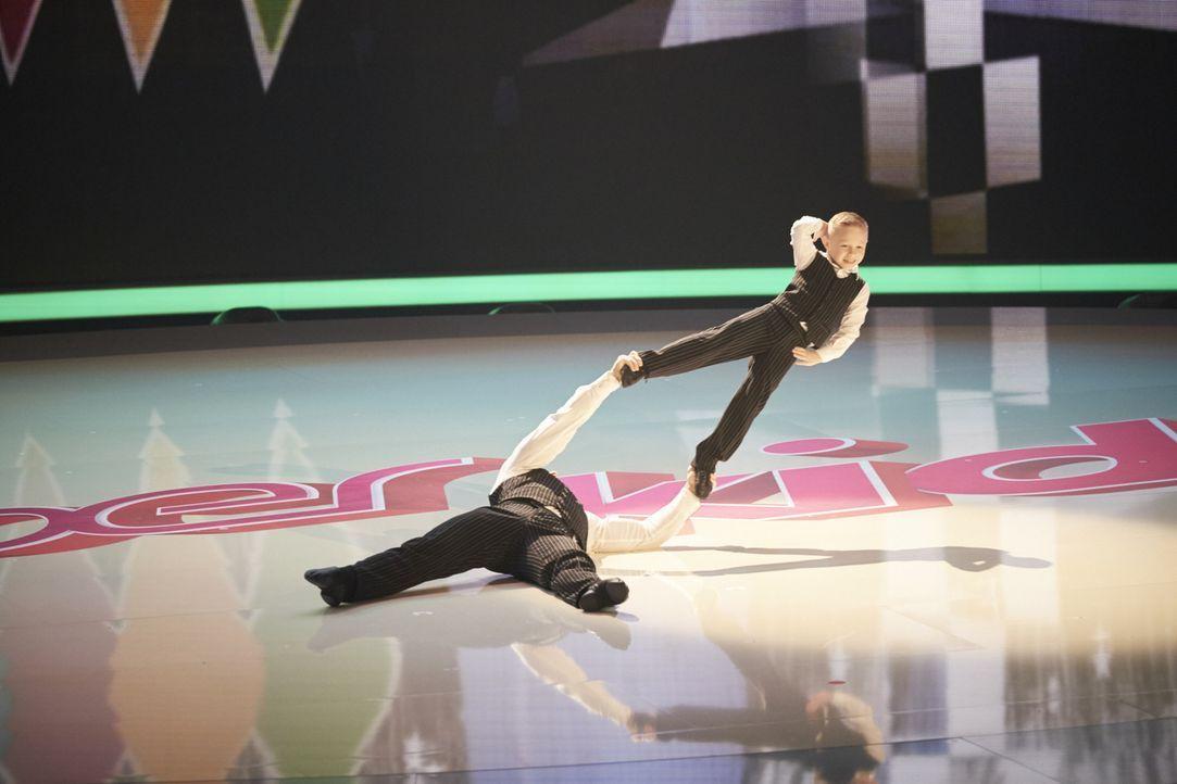 Kann Oskar Strakhov die Jury mit seiner Performance überzeugen? - Bildquelle: Stefan Hobmaier SAT.1