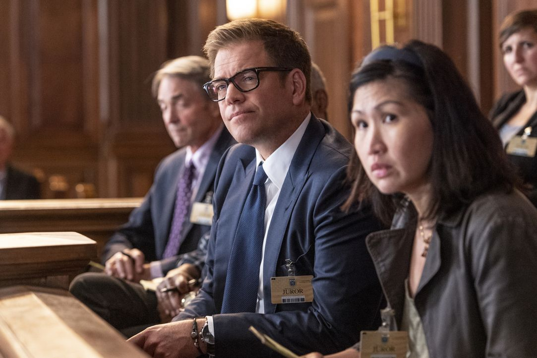 Dr. Jason Bull (Michael Weatherly, l.) - Bildquelle: David Geisbrecht 2018 CBS Broadcasting, Inc. All Rights Reserved