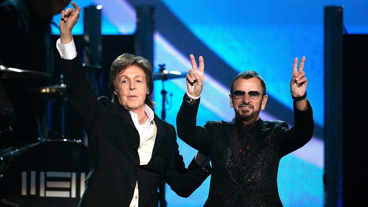 Grammy-Awards-Paul-McCartney-Ringo-Starr-14-01-26-getty-AFP - Bildquelle: getty-AFP
