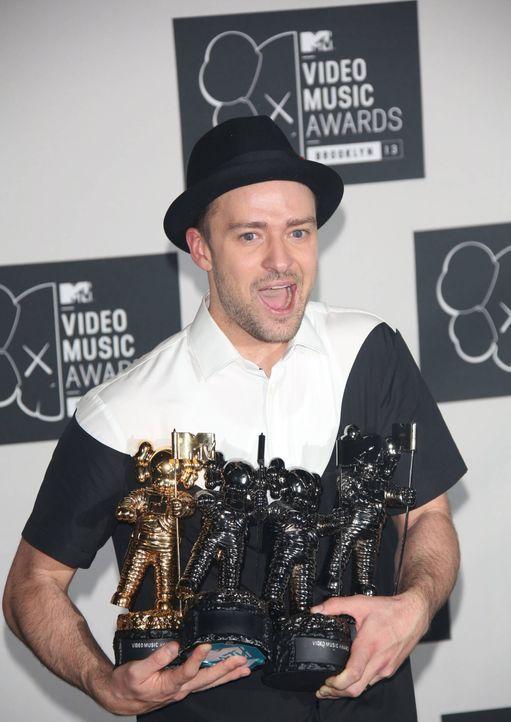 Justin Timberlake - Bildquelle: dpa, usage worldwide