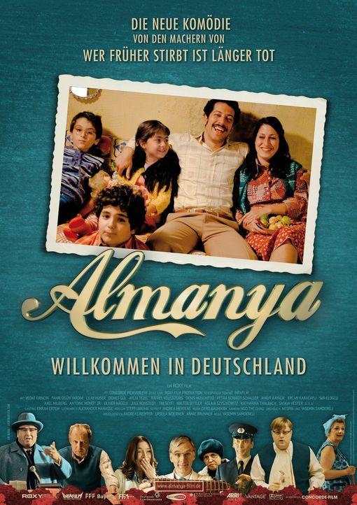 Almanya - Willkommen in Deutschland - Plakatmotiv - Bildquelle: 2011 ROXY FILM GMBH