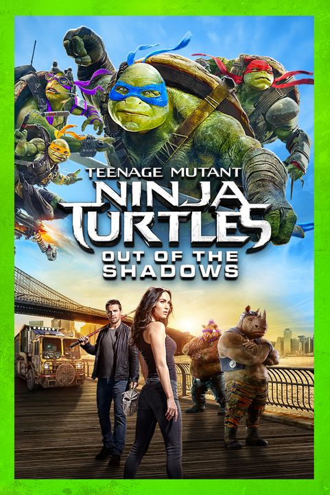 Teenage Mutant Ninja Turtles: Out of the shadows - Artwork - Bildquelle: 2018 Paramount Pictures. All Rights Reserved. TEENAGE MUTANT NINJA TURTLES is a trademark of Viacom International Inc.