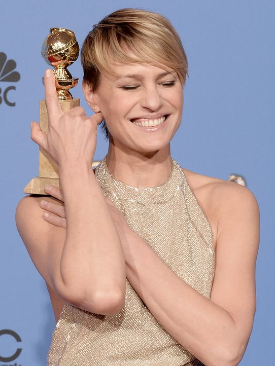 Golden-Globe-Robin-Wright-14-01-12-getty-AFP - Bildquelle: getty-AFP