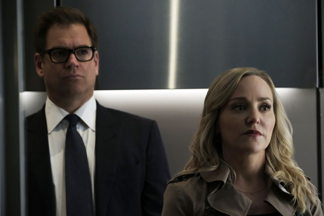 Dr. Jason Bull (Michael Weatherly, l.); Marissa Morgan (Geneva Carr, r.) - Bildquelle: Jojo Whilden 2017 CBS Broadcasting, Inc. All Rights Reserved