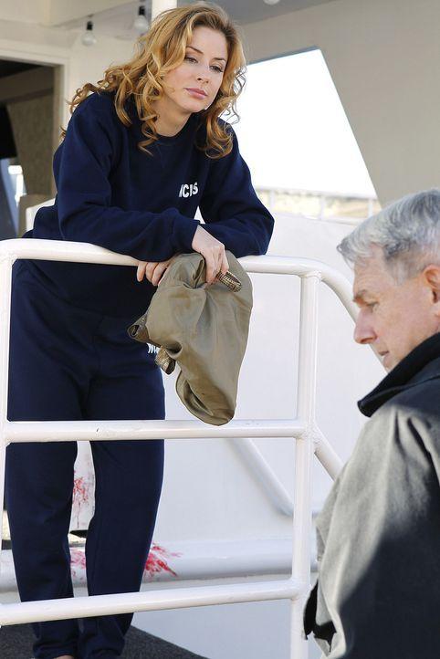 Legen mit den Untersuchungen des Falles ein atemberaubendes Tempo vor: Agent Abigail Borin (Diane Neal, l.) und Gibbs (Mark Harmon, r.) ... - Bildquelle: CBS Television