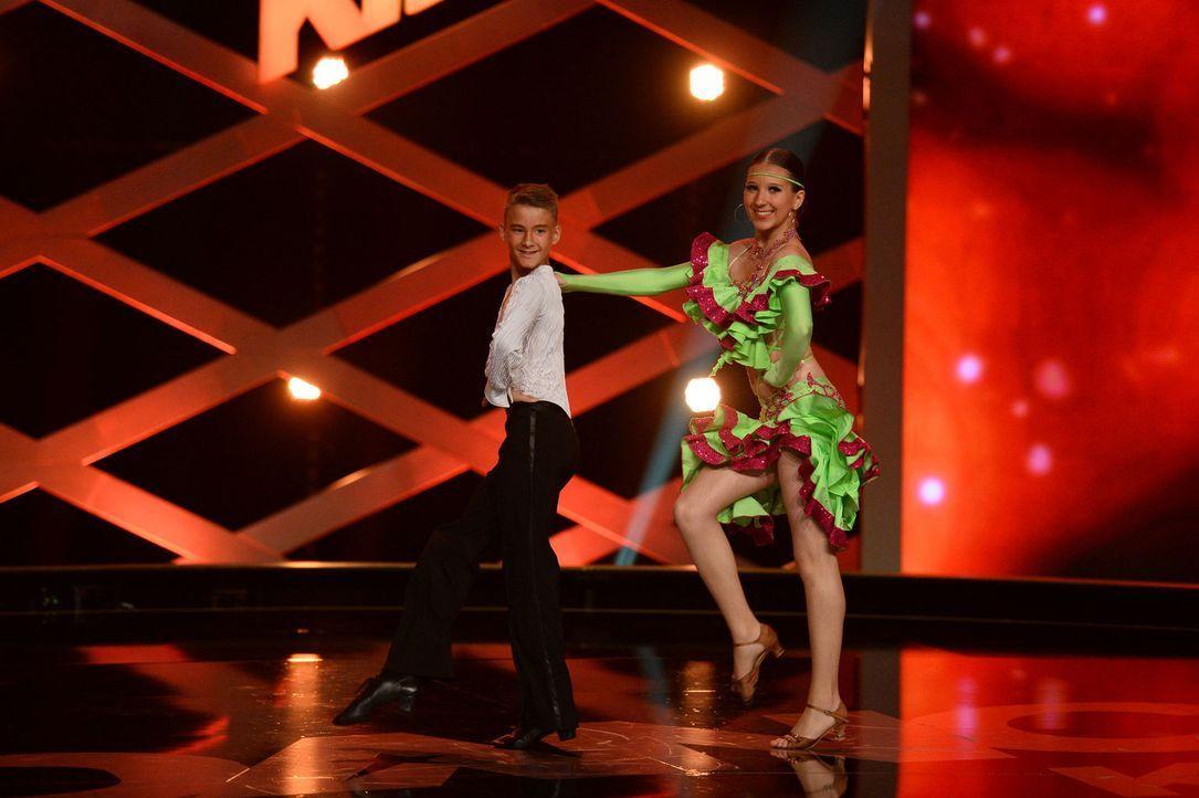 Können Anja (r.) und Marcel (l.) die Jury überzeugen, um in die nächste Runde zu gelangen? - Bildquelle: Willi Weber SAT.1