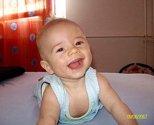 Félipe Darius, der Sohn von Nancy - Bildquelle: Sat1