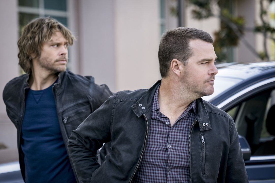 Marty Deeks (Eric Christian Olsen, l.); G. Callen (Chris O'Donnell, r.) - Bildquelle: Ali Goldstein 2018 CBS Broadcasting, Inc. All Rights Reserved/Ali Goldstein