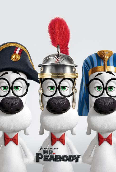 DIE ABENTEUER VON MR. PEABODY & SHERMAN - Plakat - Bildquelle: 2014 DreamWorks Animation, L.L.C.  All rights reserved.