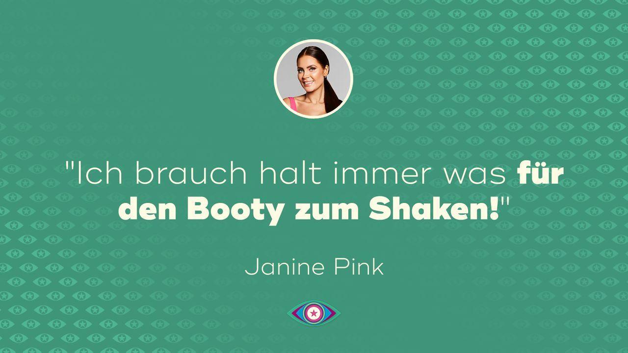 Tag 5: Janine - Booty - Bildquelle: SAT.1