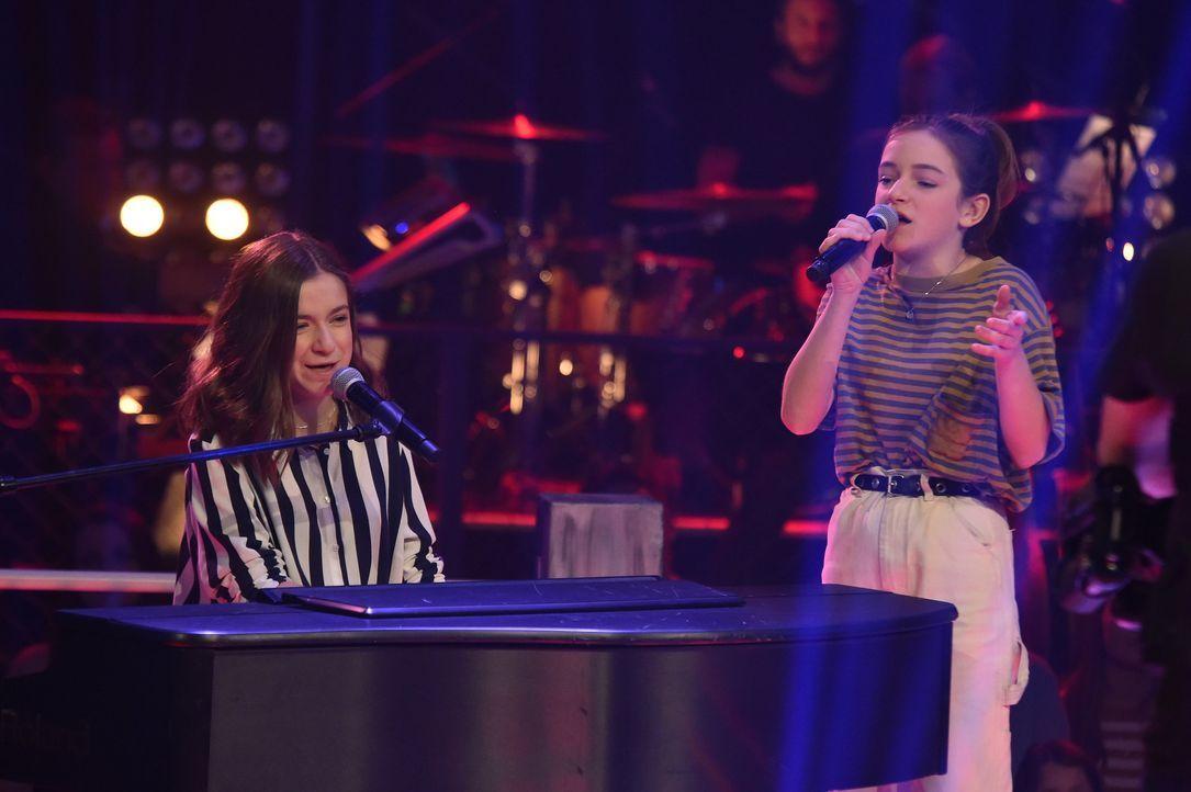 Sing-Off: Mimi und Josefin - Bildquelle: SAT.1 / Andre Kowalski