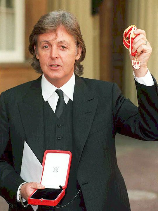 Sir-Paul-McCartney-1997-11-03-AFP - Bildquelle: AFP