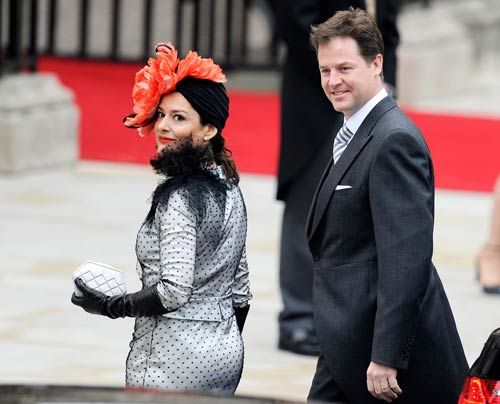 William-Kate-Westminster-Abbey-Nick-Clegg-Miriam-Gonzalez-Duantez-11-04-29-500_404_AFP - Bildquelle: AFP