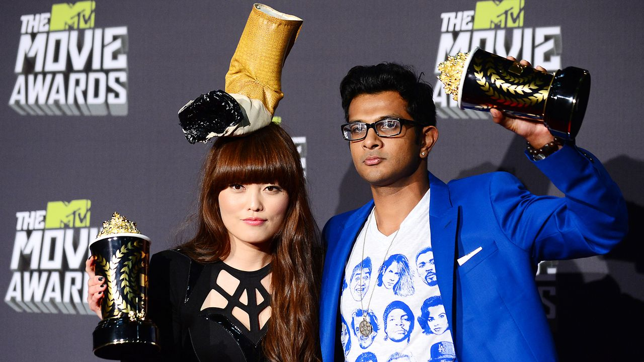 mtv-movie-awards-130414-Hana-Mae-Lee-Utkarsh-Ambudkar-AFP - Bildquelle: AFP