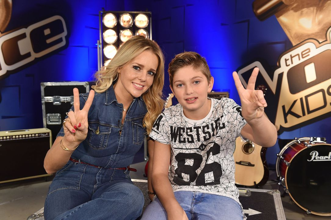 The-Voice-Kids-Stf04-Epi03-Jaimy-04-SAT1-Andre-Kowalski - Bildquelle: SAT.1/ André Kowalski