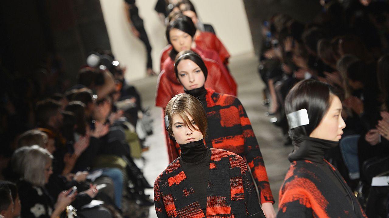 NewYork-Fashionweek-13-02-11-5-gettyAFP - Bildquelle: Slaven Vlasic/Getty Images/AFP