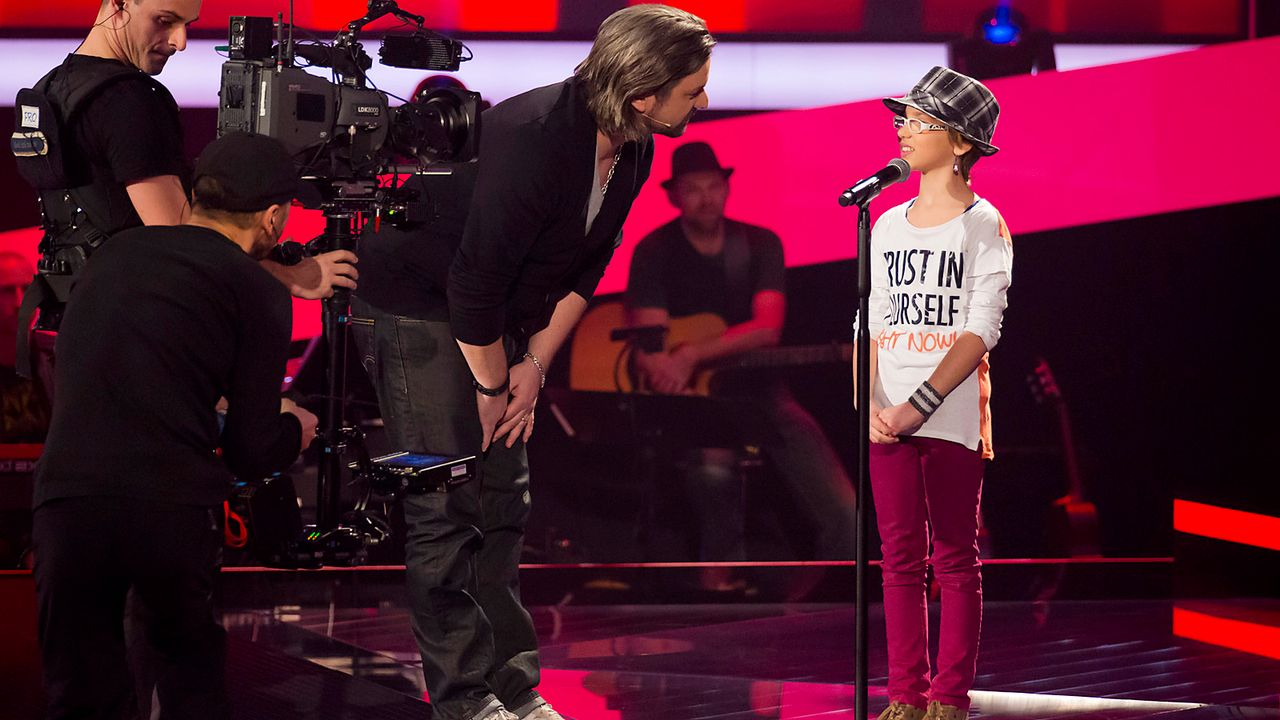 The-Voice-Kids-Nachher-Jessy-01-Richard-Huebner - Bildquelle: SAT.1/Richard Hübner