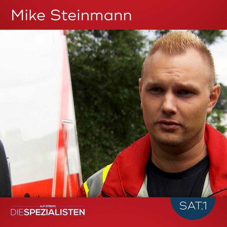 Mike Steinmann - Bildquelle: SAT.1