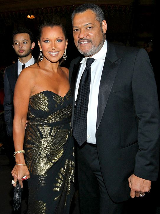 Vanessa-Williams_Laurence-Fishburne-2012-2-17-getty-AFP - Bildquelle: getty AFP