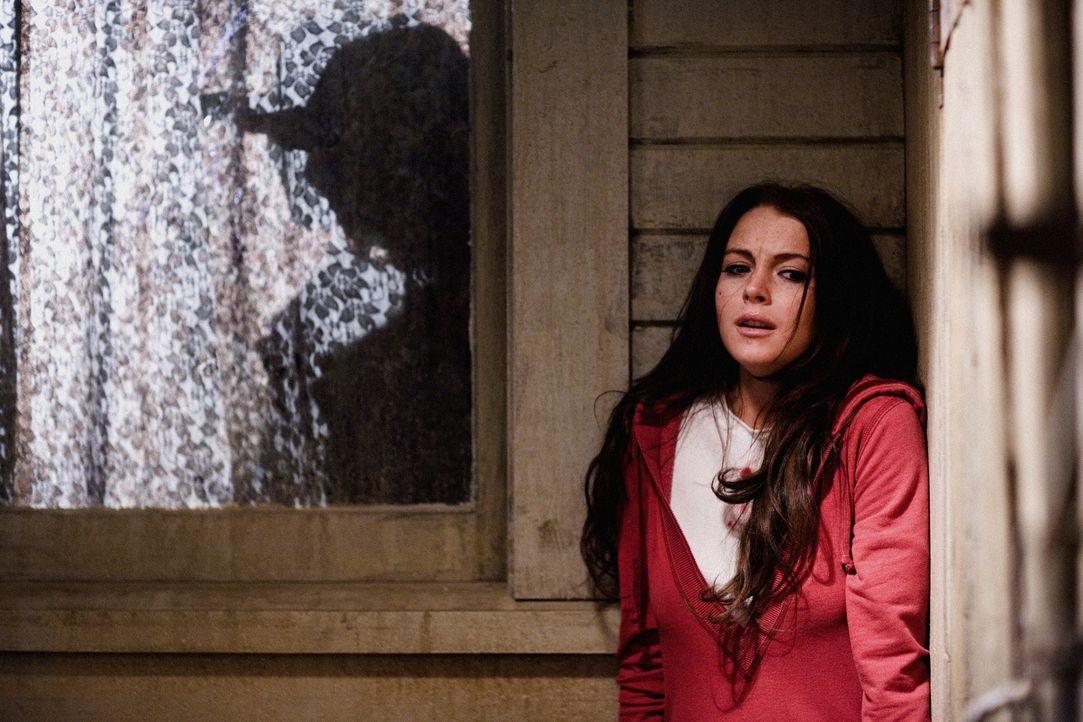 Ist nach ihrer Entführung durch einen Serienkiller völlig durcheinander: Aubrey (Lindsay Lohan) leugnet ihre Identität. Alles, was zuvor ihr Leben a... - Bildquelle: Sony 2007 CPT Holdings, Inc.  All Rights Reserved.