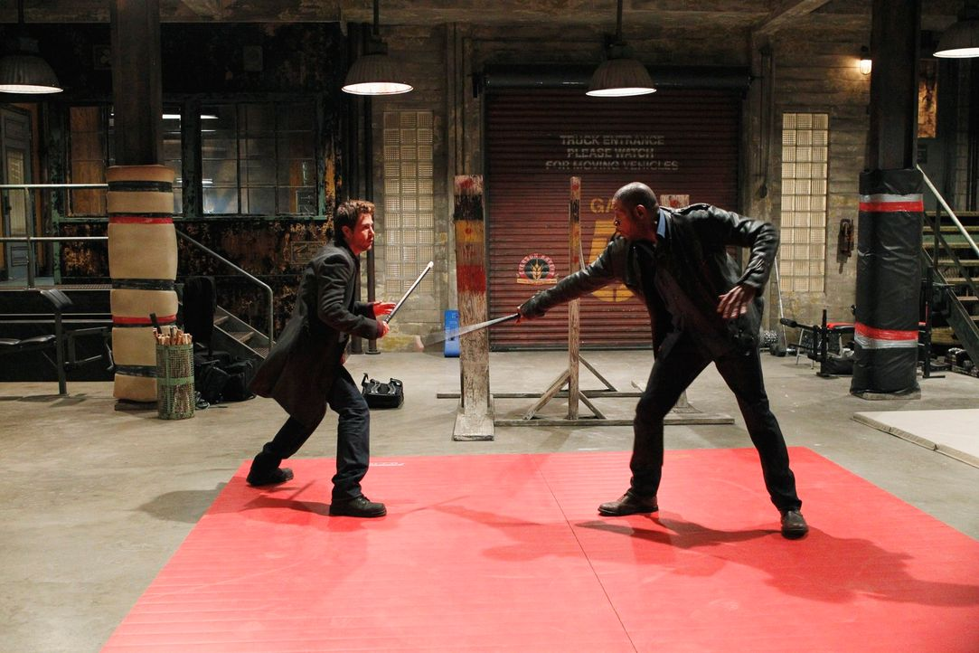 Trainieren für den Ernstfall: Sam (Forest Whitaker, r.) und Mick (Matt Ryan, l.) ... - Bildquelle: ABC Studios