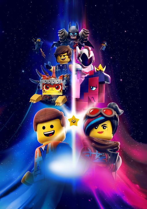 The Lego Movie 2 - Artwork - Bildquelle: Warner Bros. Entertainment Inc. LEGO, the LEGO logo and the Minifigure are trademarks of The LEGO Group. © The LEGO Group.