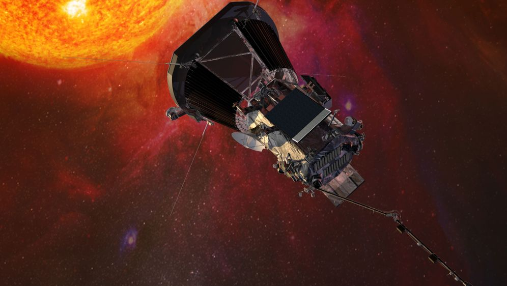 - Bildquelle: Johns Hopkins University Applied Physics Laboratory/NASA/dpa