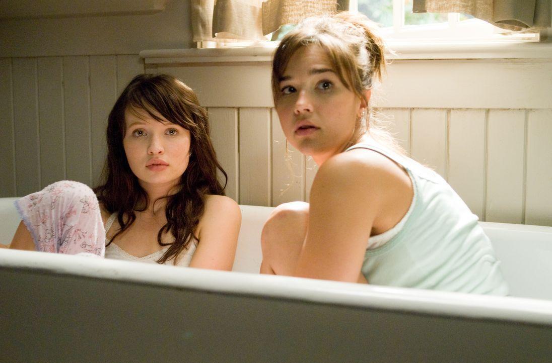 Ihr Leben ist in großer Gefahr: Anna (Emily Browning, l.) und Alex (Arielle Kebbel, r.) ... - Bildquelle: 2008 DreamWorks LLC and Cold Spring Pictures. All Rights Reserved.