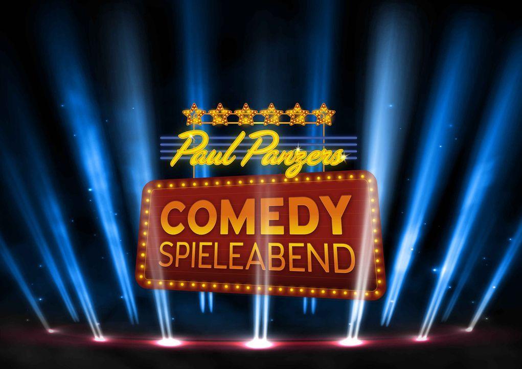 Paul Panzers Comedy Spieleabend - Logo - Bildquelle: SAT.1