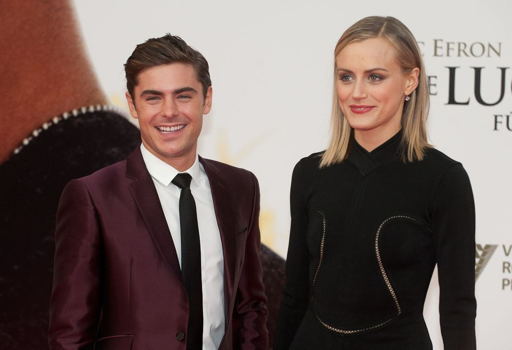 premiere-the-lucky-one-zac-efron-004 - Bildquelle: dpa