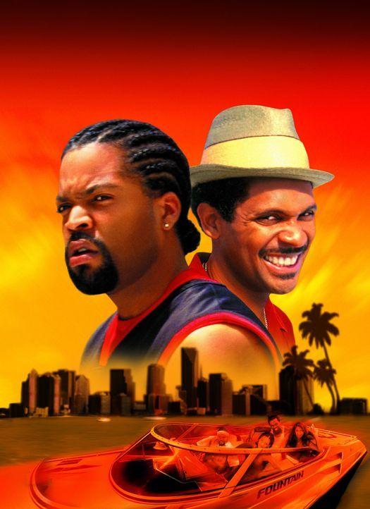 Kopfgeldjäger Bucum (Ice Cube, l.) und Kleinganove Reggie (Mike Epps, r.) sind nicht gerade vom Glück begünstigt. Zuerst geraten sie in einen 20... - Bildquelle: New Line Cinema
