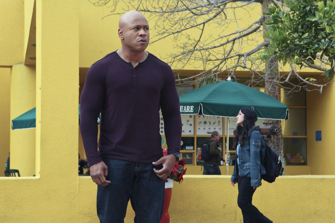 Ermittelt in einem neuen Fall: Sam (LL Cool J) ... - Bildquelle: CBS Studios Inc. All Rights Reserved.