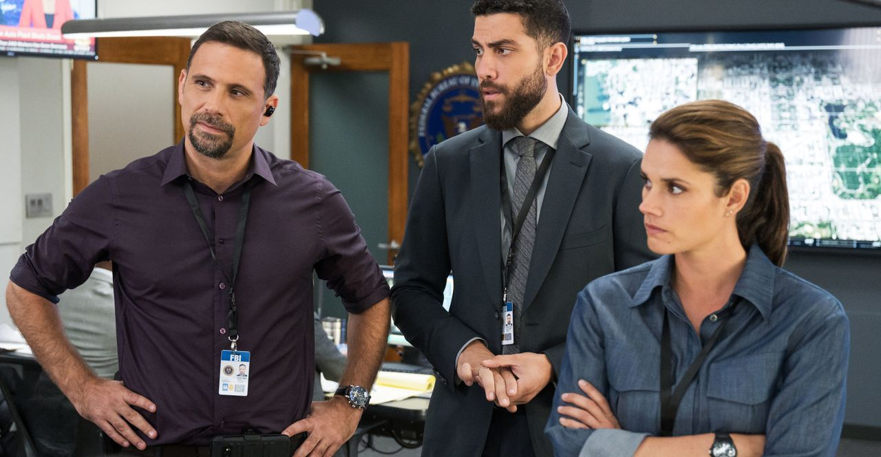 (v.l.n.r.) Jubal Valentine (Jeremy Sisto); Special Agent Omar Adom 'OA' Zidan (Zeeko Zaki); Special Agent Maggie Bell (Missy Peregrym) - Bildquelle: Mark Schafer 2019 CBS Broadcasting, Inc. All Rights Reserved. / Mark Schafer