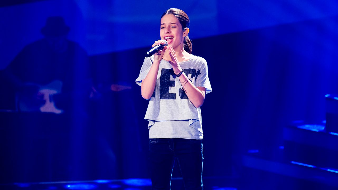 The-Voice-Kids-Nachher-Michele-07-Richard-Huebner - Bildquelle: SAT.1/Richard Hübner