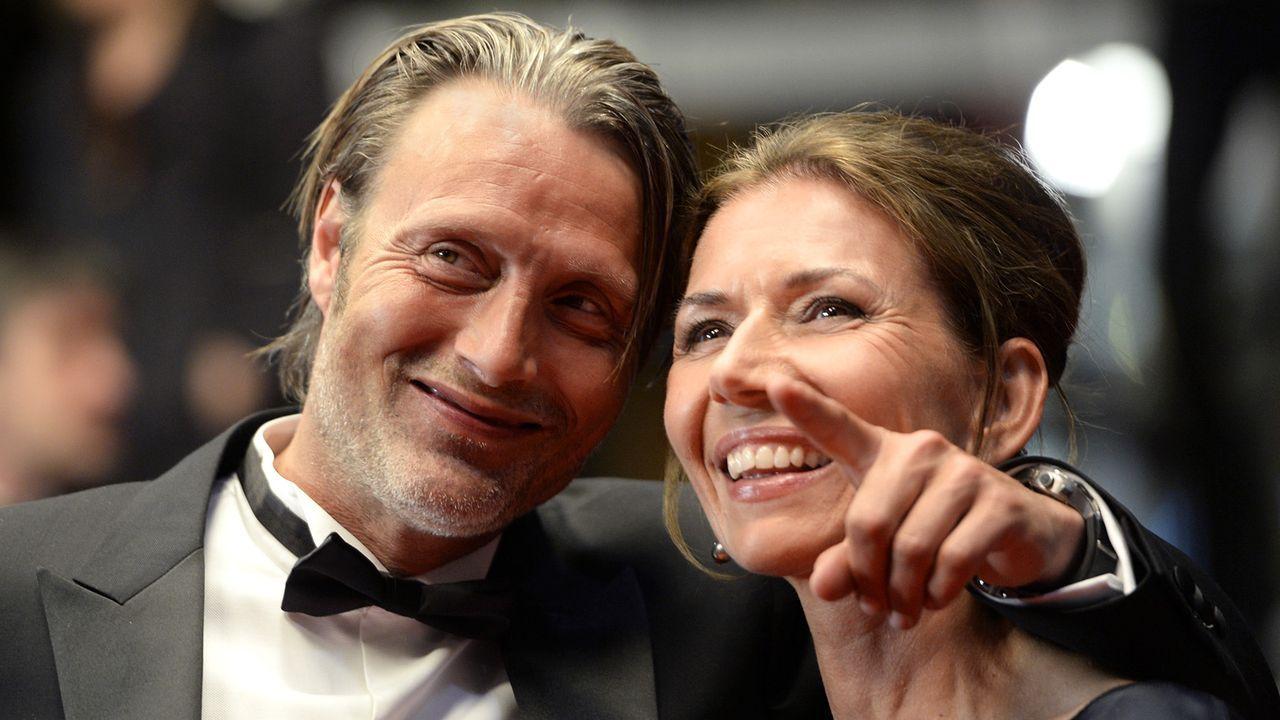 Mads-Mikkelsen-Hanne-Jakobsen-13-05-24-2-AFP - Bildquelle: AFP