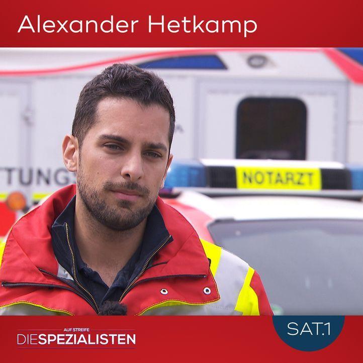 Alexander Hetkampf - Bildquelle: SAT.1